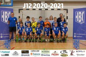 HBC Izegem JM12 2020-2021