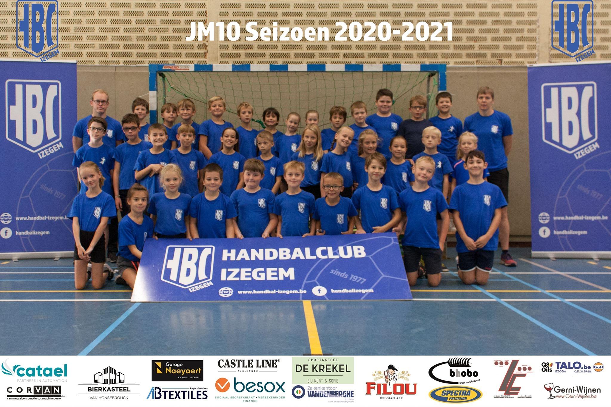 HBC Izegem JM10 2020-2021