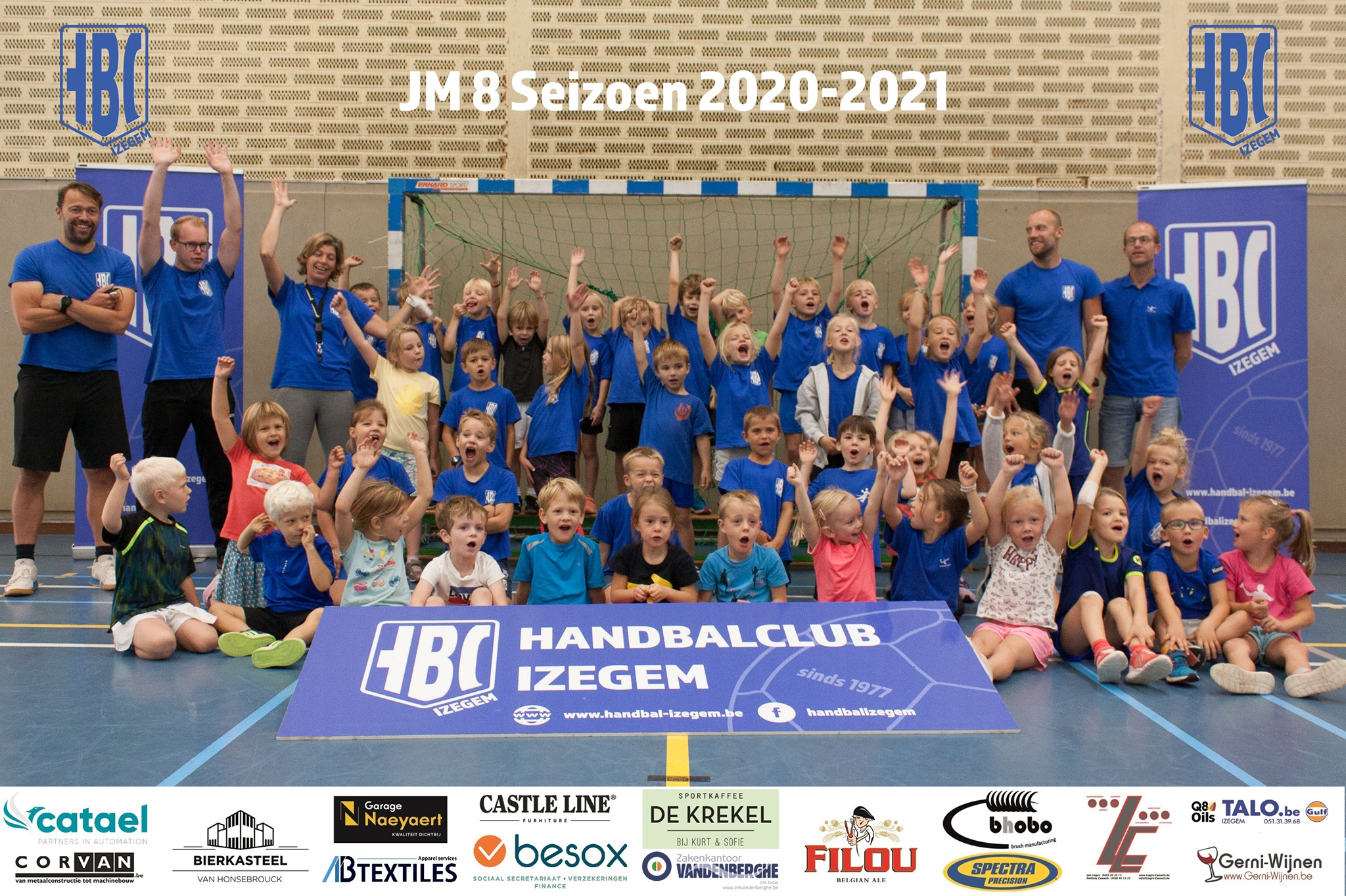 HBC Izegem JM8 2020-2021